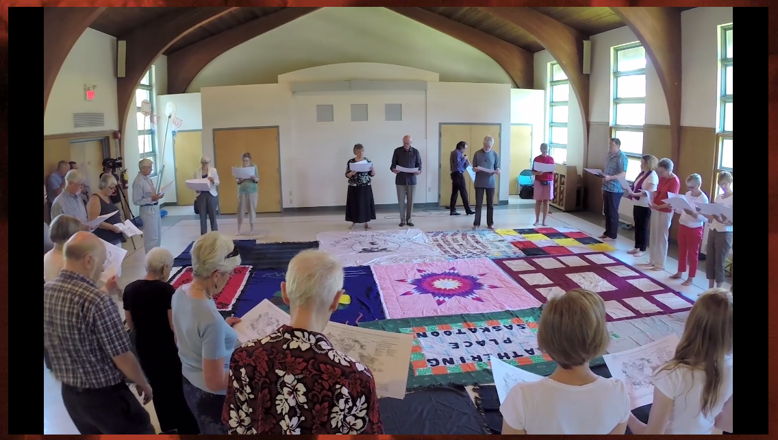 Kairos Blanket Exercise video on the https://www.kairosblanketexercise.org website